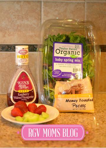 Summer Strawberry Salad Ingredients