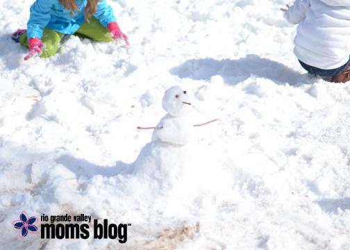 Ok, so the snowmen were really small...
