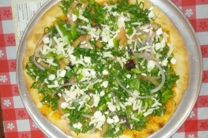 Joe's Salad Pizza