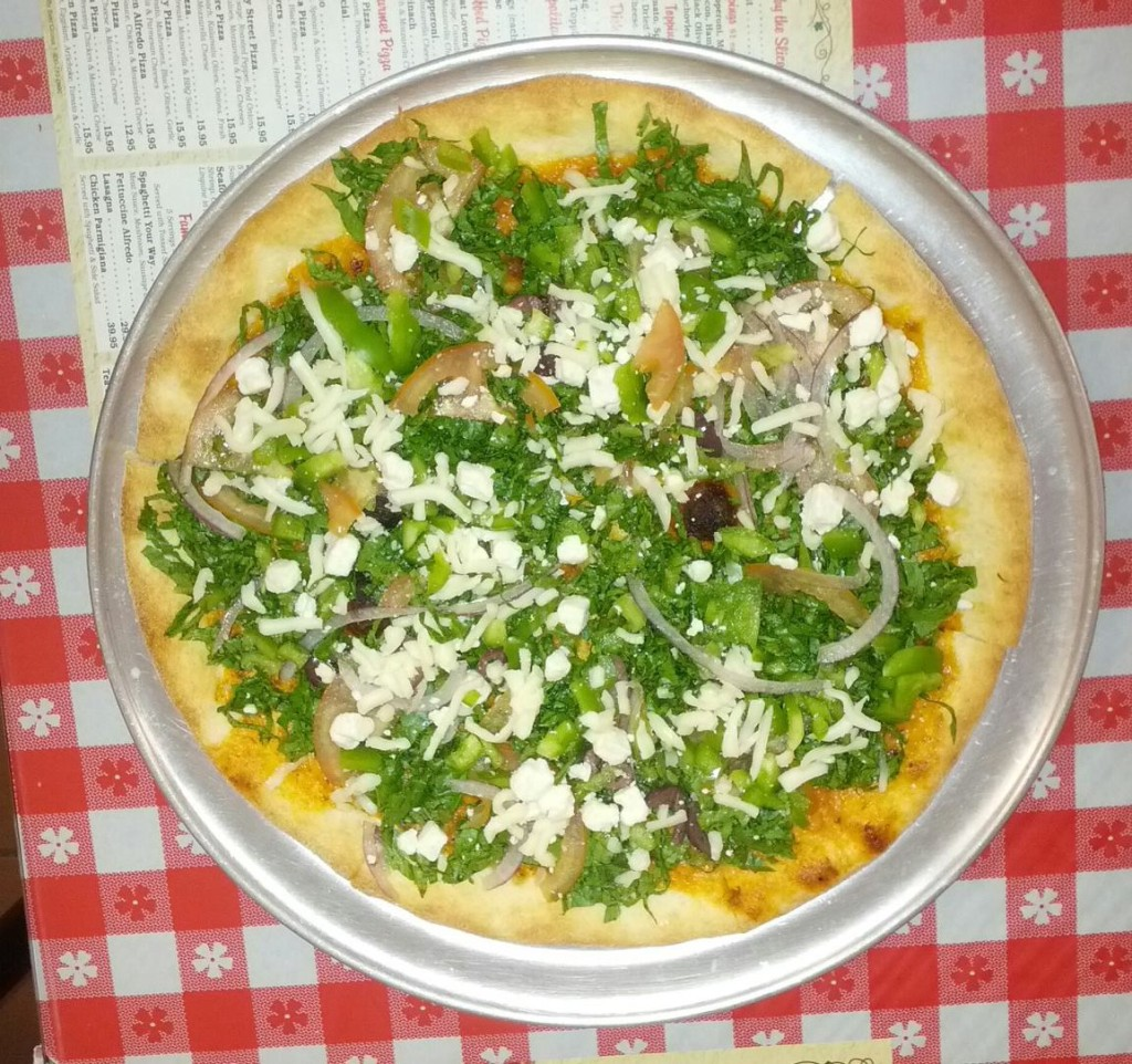 Joe's Salad Pizza