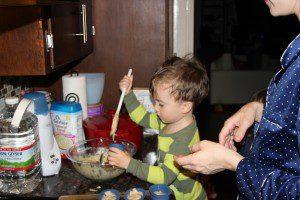 Mixing Pancake Batter