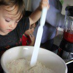 Baking with the Boys, and Empowering Helping Hands