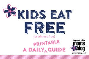 Kids Eat Free :: A Printable Guide