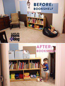 Where to put the Bookshelf
