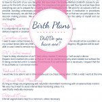 Did You Have a Birth Plan?