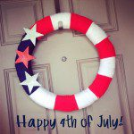 Decorate Your Door for the 4th of July