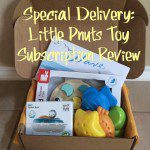 Special Delivery: Little Pnuts Toy Subscription Review {Giveaway}