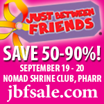Just Between Friends :: Fall Consignment Sale {Sponsored}