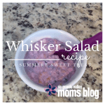 Whip up a Whisker Salad