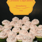 Lemon Strawberry Cupcakes!