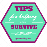Tips for Helping Moms Survive Homework
