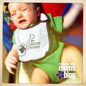 nursing crying baby