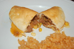 Cheesy Beef Taco Melts Recipe :: RGV Moms Blog