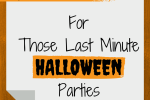 Last Minute Halloween Party Ideas | RGV Moms Blog