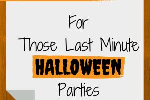 Last Minute Halloween Party Ideas | RGV Moms Blog
