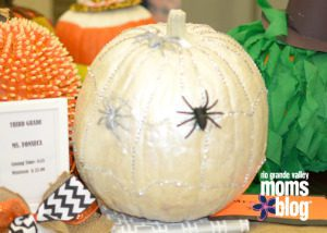 Pumpkin-Decorating-Silver-Spider-Web