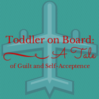 Toddler on Board red