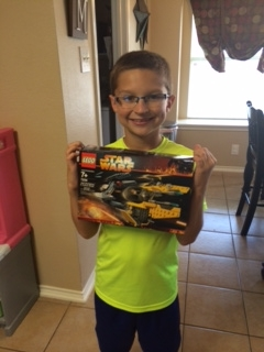 Another lego set for your birthday? I'm shocked!