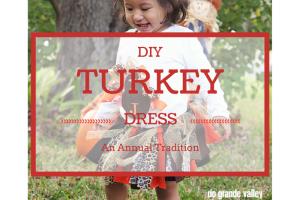 DIY Turkey Dress :: RGV Moms Blog