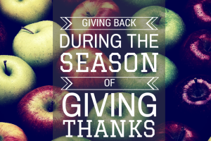 Giving Back During the Season of Giving Thanks :: RGV Moms Blog