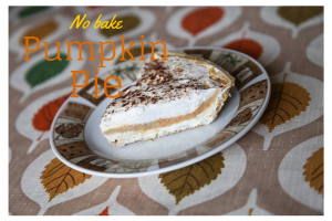 No bake pumpkin pie :: RGV Moms Blog