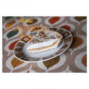 No bake pumpkin pie :: RGV Moms Blog