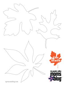 RGVMB Printable Leaves :: RGV Moms Blog
