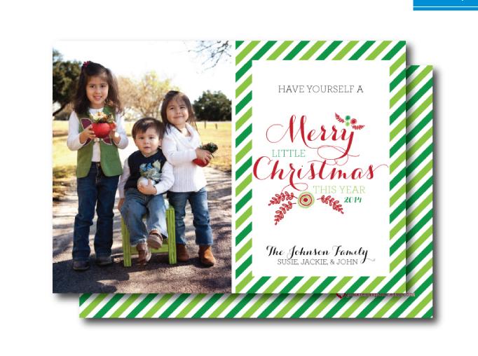 Mini-Session Christmas Cards :: RGV Moms Blog