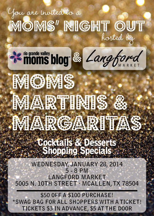 Moms' Night Out :: Moms, Martinis, and Margaritas :: RGV Moms Blog