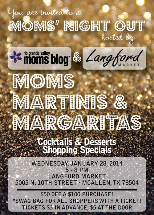 Moms' Night Out :: Moms, Martinis, and Margaritas :: RGV Moms Blog