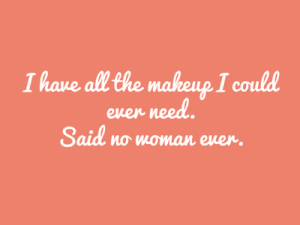 no woman ever