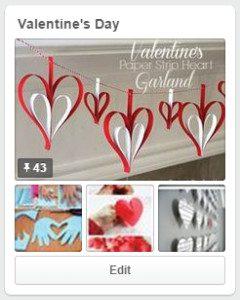 Valentine Board - Activity calendar February 2015 :: RGV Moms Blog