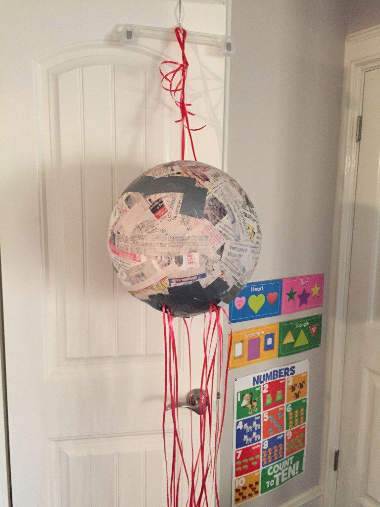 DIY Pull String Pinata :: RGV Moms Blog