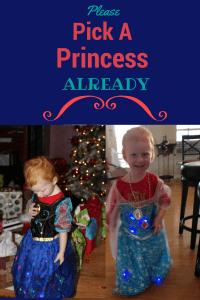 pick a princess