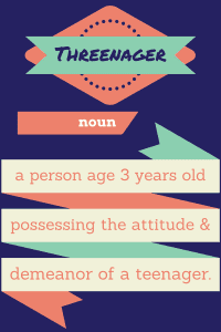 threenager definition