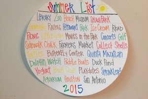 Kids Summer Bucket List :: RGV Moms Blog