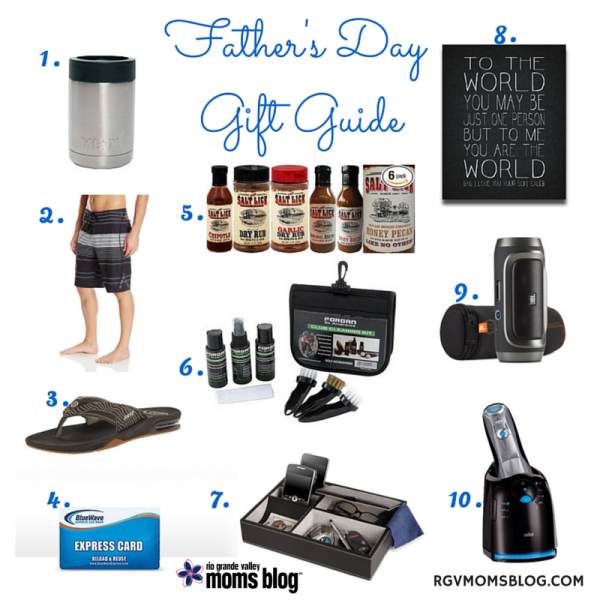 Father's Day Gift Guide 2015 :: RGV Moms Blog