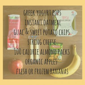 BF snack list