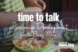 Time to Talk Language Development for the Busy Mom