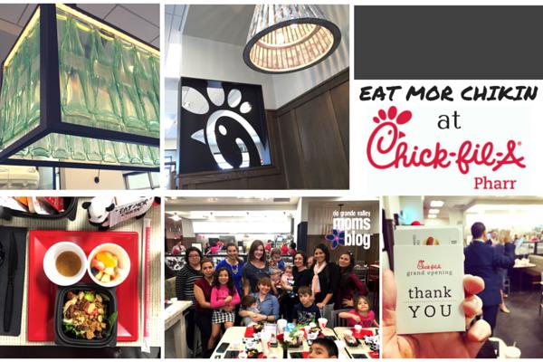 Chick-Fil-A Pharr - Mom and Family Friendly - RGV Moms Blog