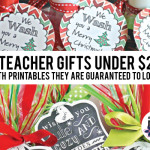 Teacher Gifts & Printables for Under $20