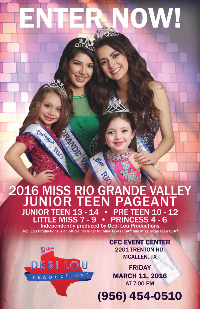 Miss RGV 2016 Teen Pageant