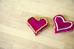 Heart Shaped Cookies and Brownies :: Family Valentine Dates