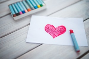 Valentine Crafts and Cards with Kids :: Family Valentine Dates