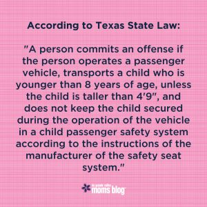 RGVMB Car Seat Safety TX Law-01