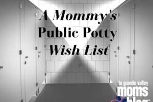 A Mommy's Public Potty Wish List