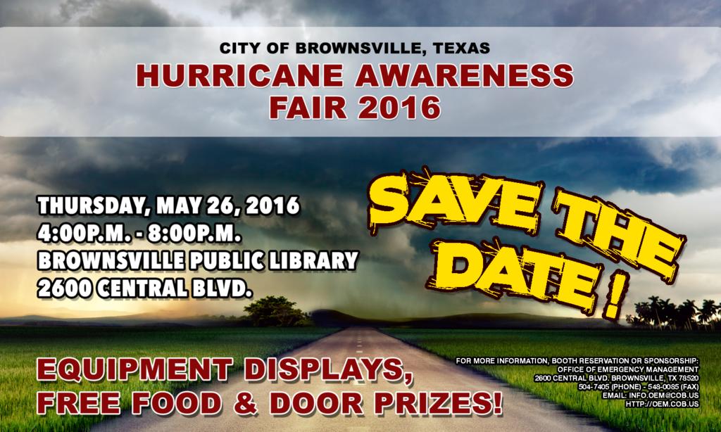 Hurricaine awareness Fair Brownsville 2016