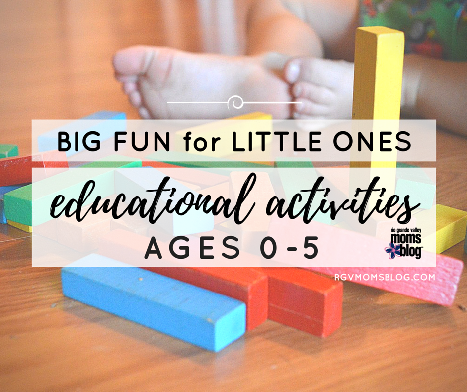 Big Fun for Little Ones - educational activities for toddlers