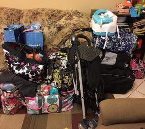 Bag Mountain packing