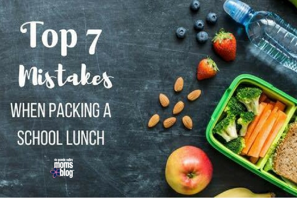 Top 7 Mistakes When Packing Lunch Boxes